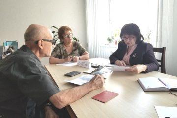 Личный прием граждан начальником ГСУДА ПМР в городе Григориополь