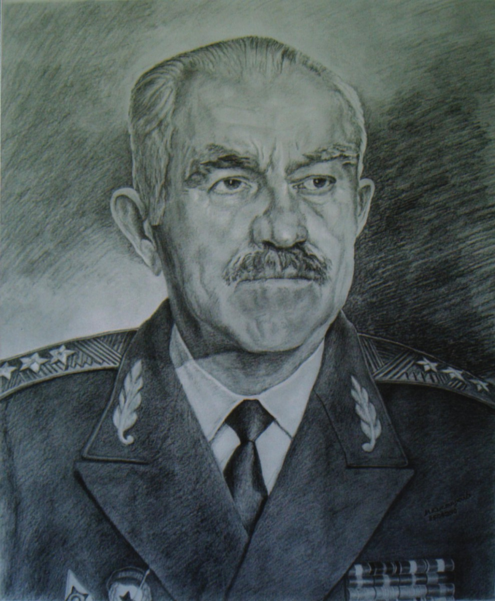 1.Портрет С.Ф. Кицака, автор М.В. Кислицкий.